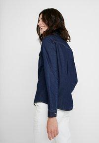 Opus - FEDELE - Button-down blouse - cosmic blue - 2