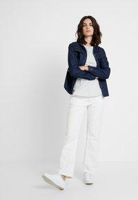 Opus - FEDELE - Button-down blouse - cosmic blue - 1