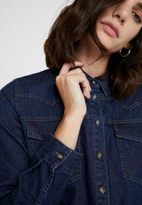 Opus - FEDELE - Button-down blouse - cosmic blue - 5