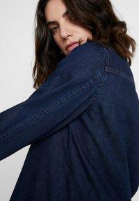Opus - FEDELE - Button-down blouse - cosmic blue - 3