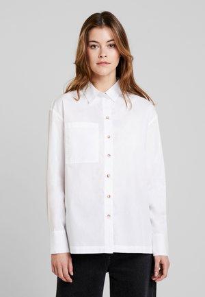 FUNALA - Button-down blouse - white