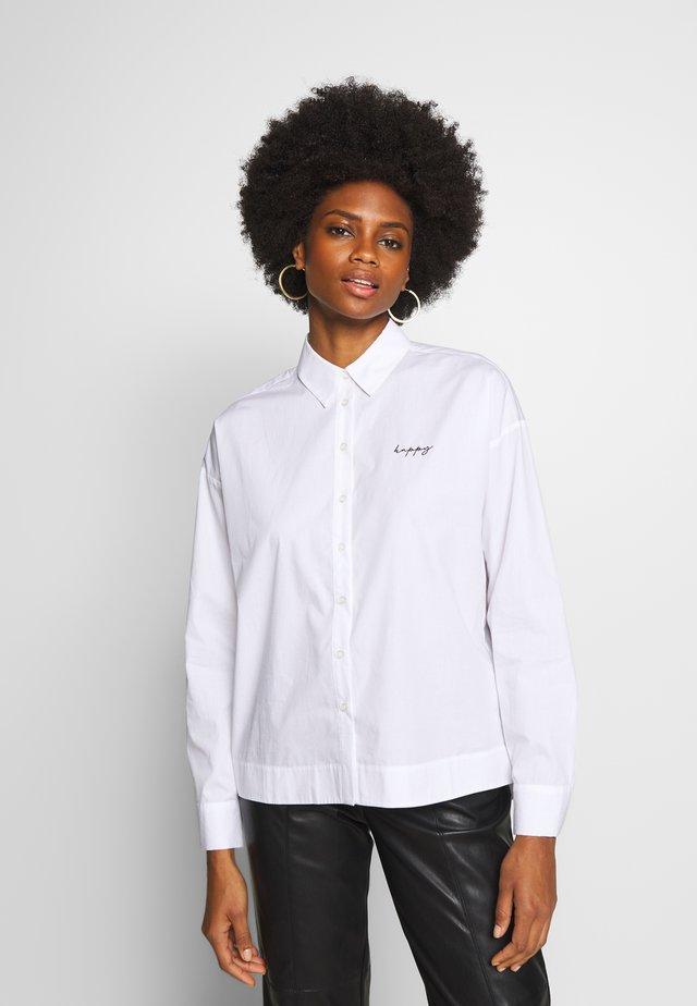 FLARINE - Button-down blouse - white
