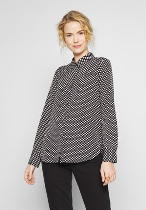 FASTINE CIRCLE  - Button-down blouse - black