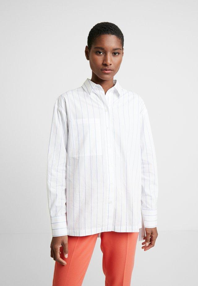 FUNALA  - Button-down blouse - just blue