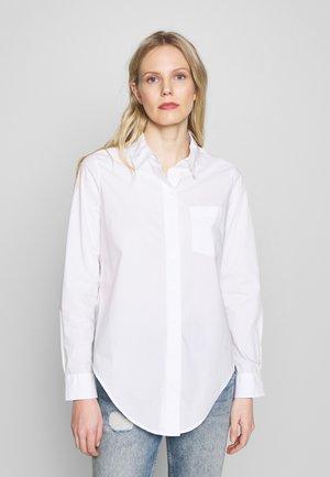 FENTE - Button-down blouse - white