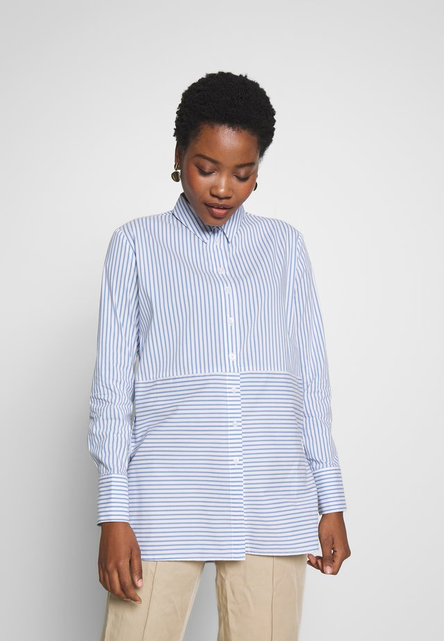 FRIDO - Button-down blouse - morning blue