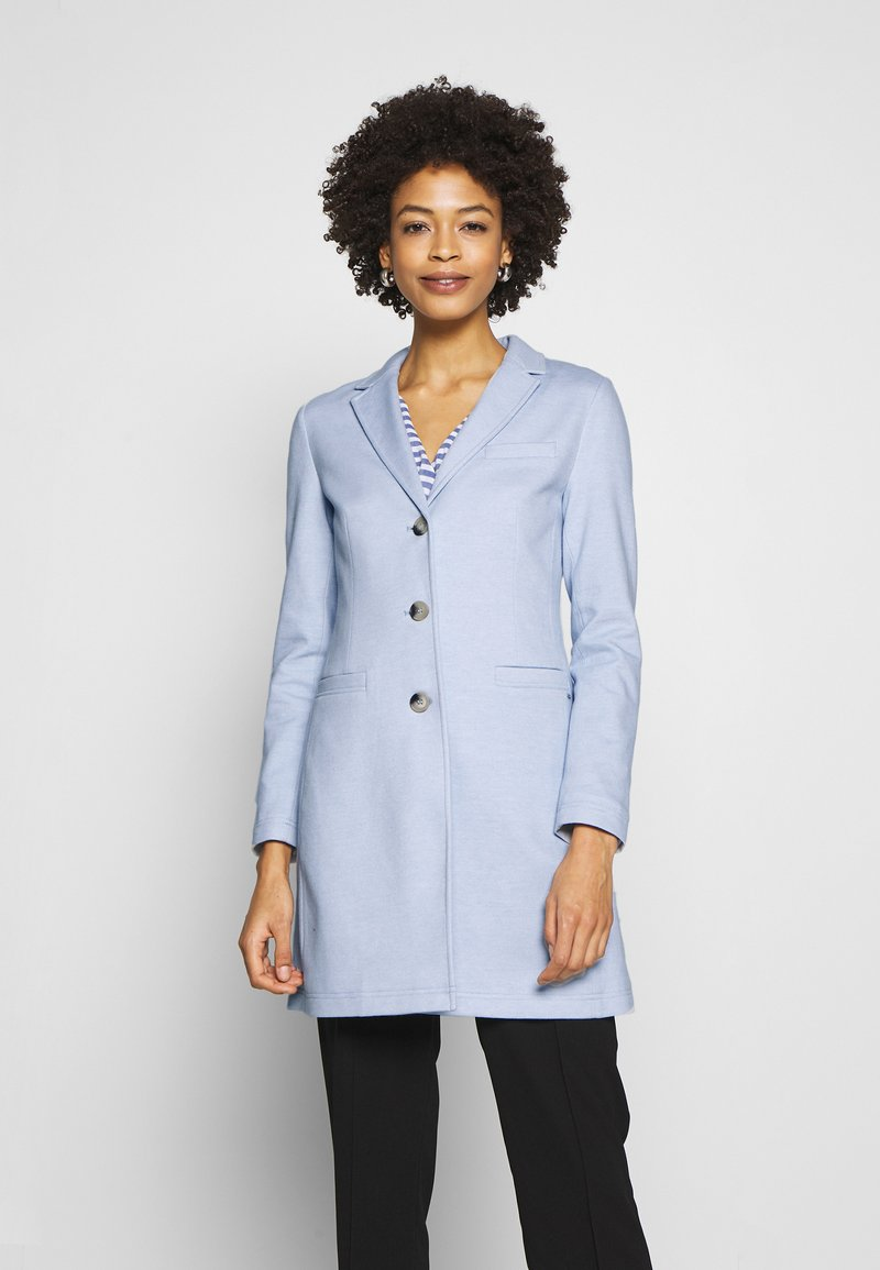 Opus - HALINI SPECIAL - Krátký kabát - morning blue
