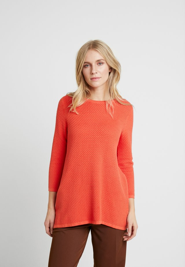PENNIE - Jumper - fresh coral