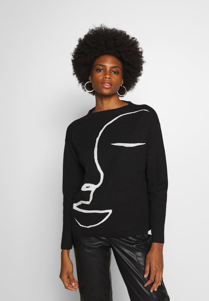 Opus - PACE - Sweter - black