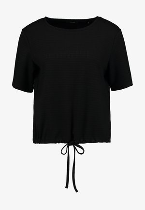 SALAZA - T-shirt basique - black