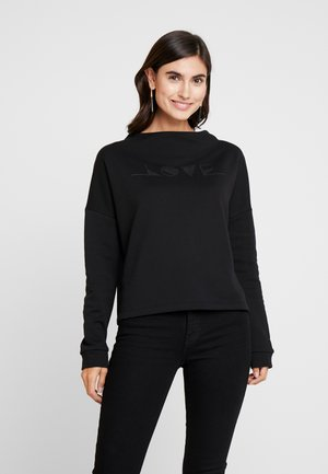 GINNI LOVE - Sweatshirt - black
