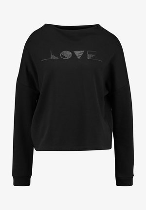 GINNI LOVE - Sweatshirt - black