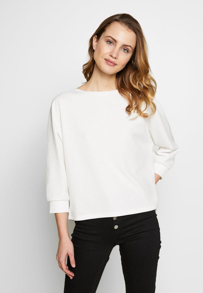 Opus - SOBBY - Sweatshirt - milk