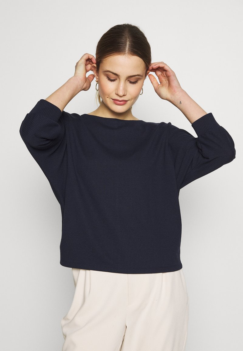Opus - SOBBY - Sweater - just blue