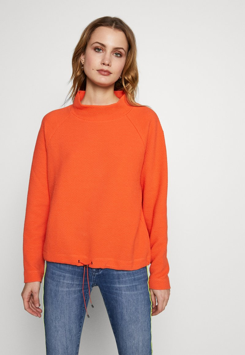 Opus - GULANI - Sweater - fresh coral