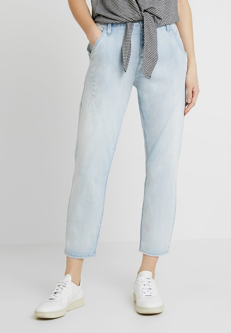 Opus - LETTY - Džíny Relaxed Fit - light blue washed