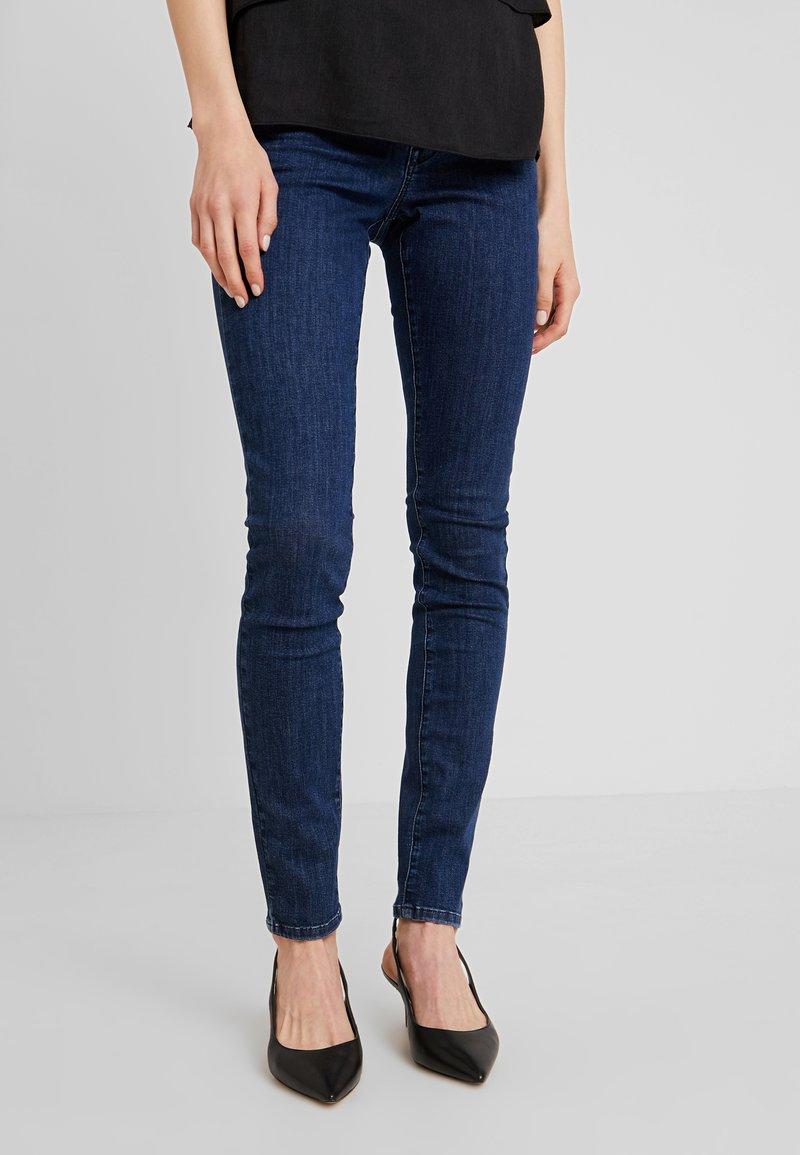 Opus - ELMA HEAVY  - Jeans Skinny Fit - pure dark blue