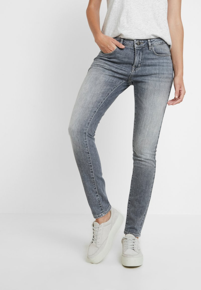 Opus - ELMA - Jeans Skinny Fit - fresh grey