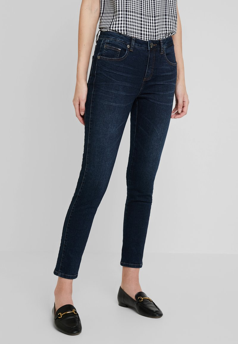Opus - EVITA - Jeansy Skinny Fit - dark blue