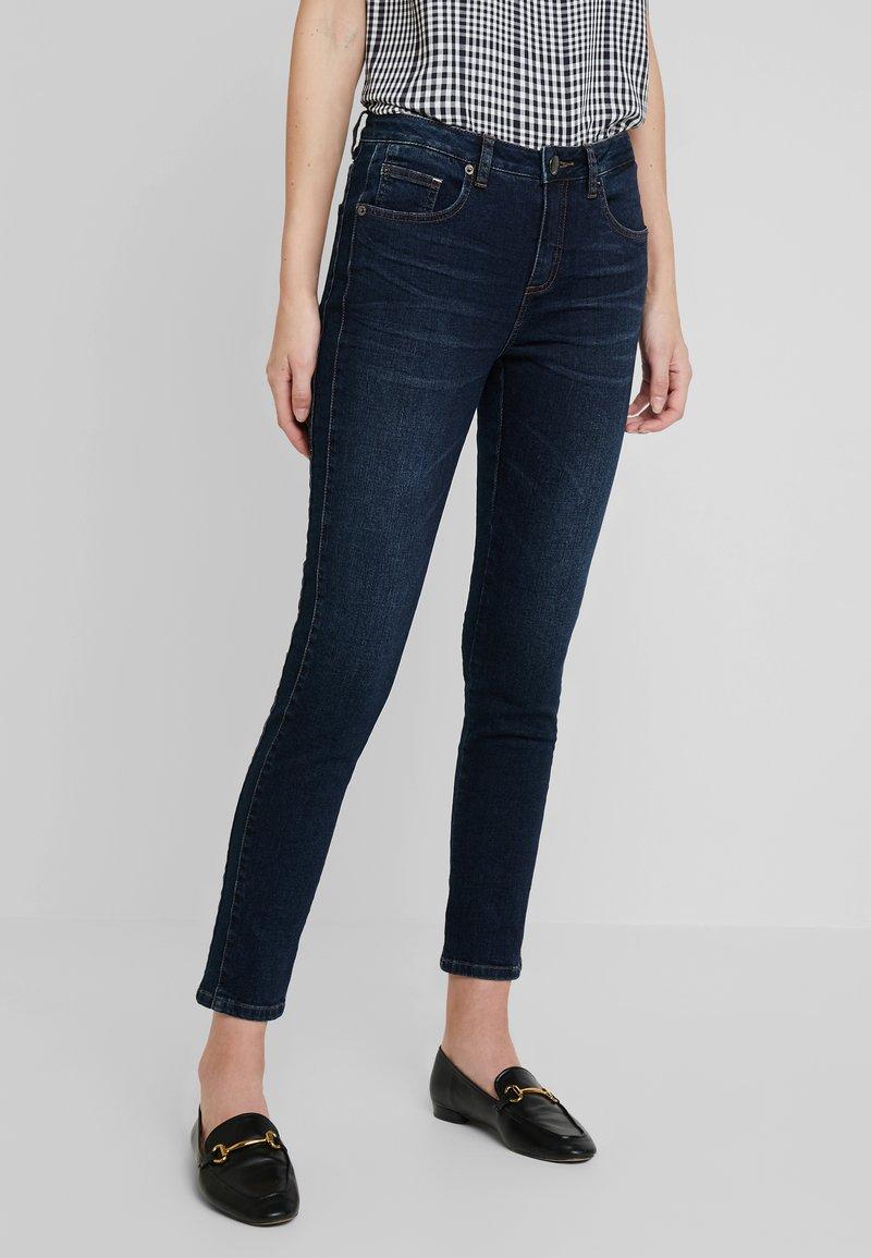 Opus - EVITA - Jeans Skinny Fit - dark blue