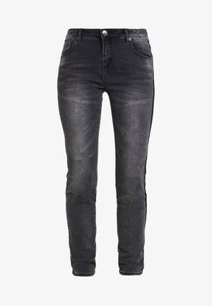 EVITA BLACK - Jeans Skinny Fit - dark black