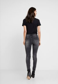 Opus - EVITA BLACK - Skinny džíny - dark black - 2