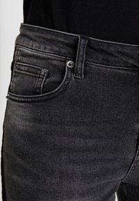 Opus - EVITA BLACK - Skinny džíny - dark black - 5