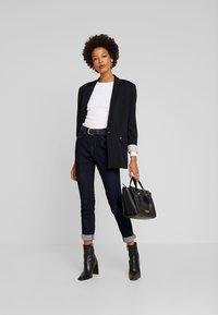 Opus - ELMA - Slim fit jeans - rinsed blue - 1