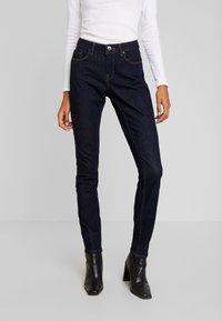 Opus - ELMA - Slim fit jeans - rinsed blue - 0