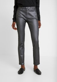 Opus - EMILY - Jeans slim fit - hazy fog melange - 0