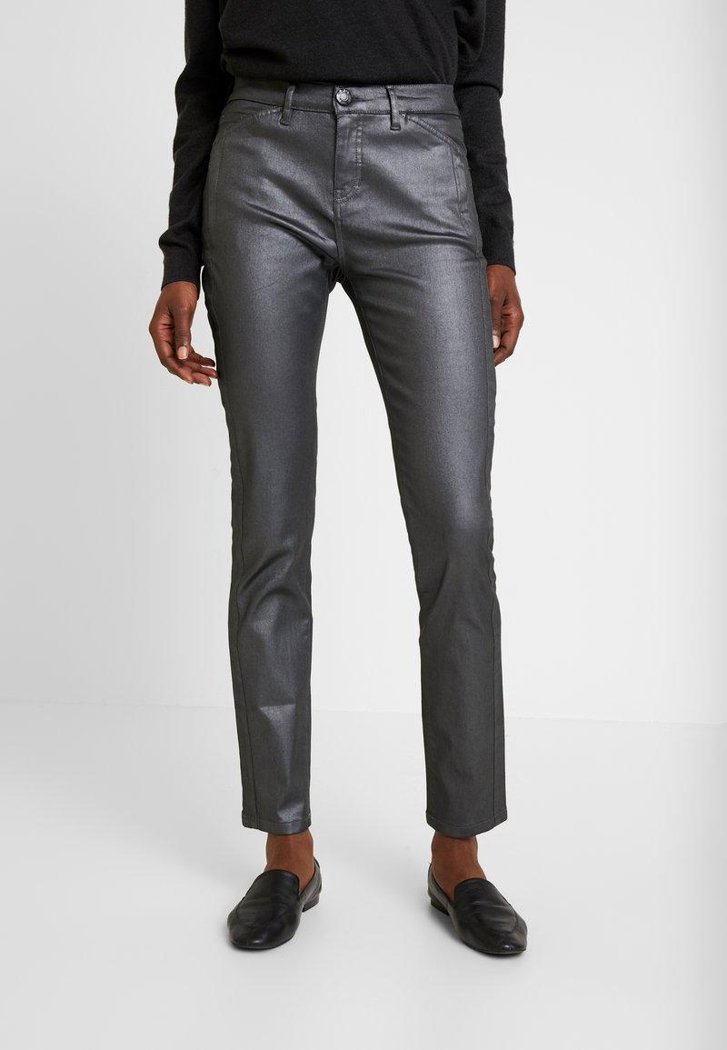 Opus - EMILY - Jeans slim fit - hazy fog melange