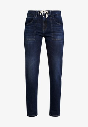 LONE - Džíny Relaxed Fit - dark washed blue