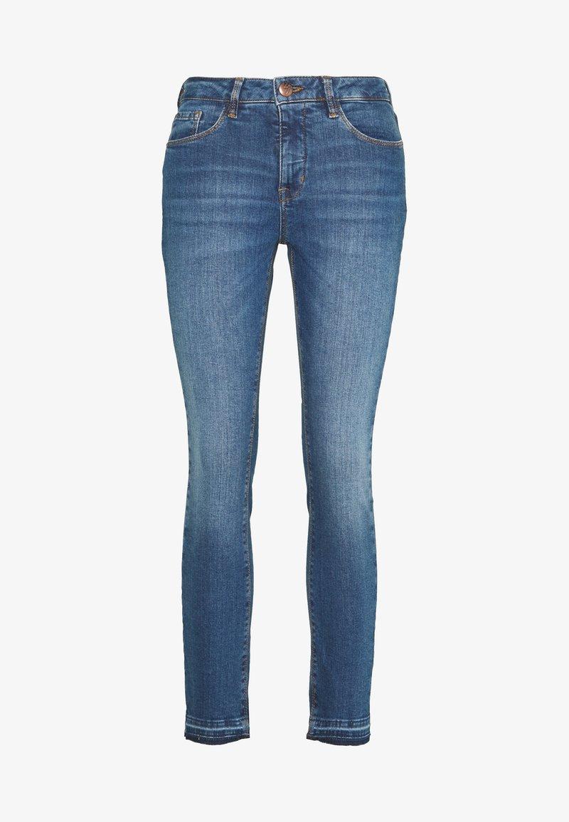 Opus - ELMA TINTED BLUE - Slim fit jeans - tinted blue