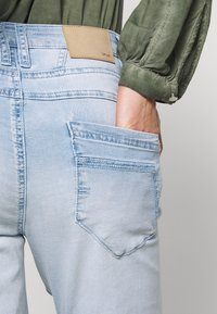 Opus - LETTY - Relaxed fit jeans - light blue washed - 5