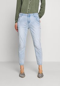Opus - LETTY - Relaxed fit jeans - light blue washed - 0