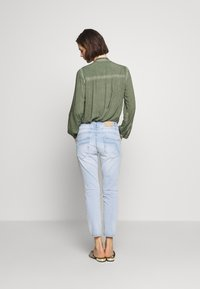 Opus - LETTY - Relaxed fit jeans - light blue washed - 2