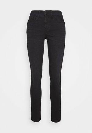 EMILY SNAKE TAPE - Jeans Skinny Fit - coal black