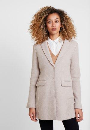 HAIBA - Short coat - sandshell