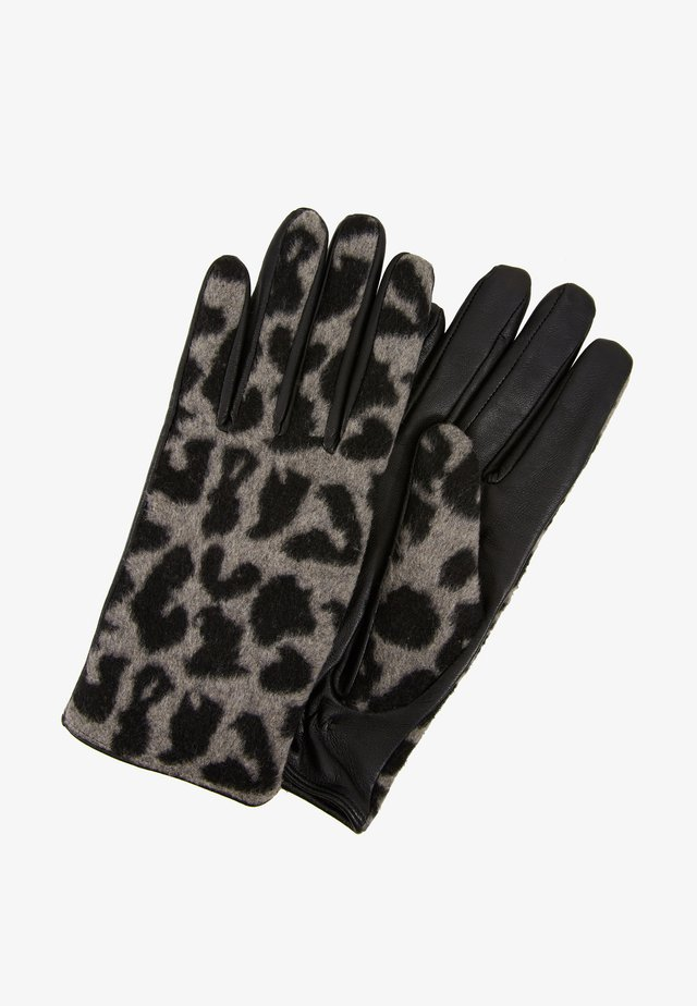 AKITTY GLOVES - Gloves - black