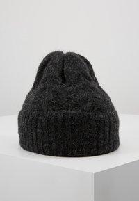 Opus - ABIBI - Mütze - slate grey melange - 0
