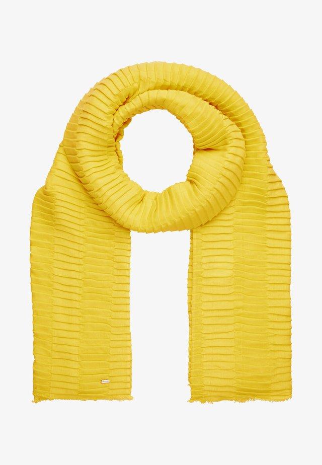 AKASTA SCARF - Šála - yellow