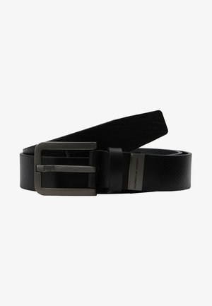 BASIC - Formální pásek - black