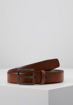 ZEUS - Belt - cognac