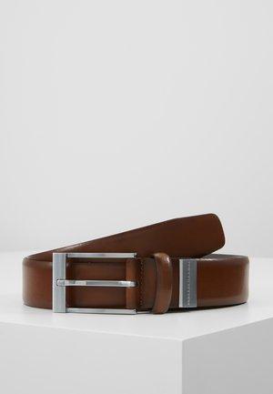 DAKOTA - Formální pásek - dark brown