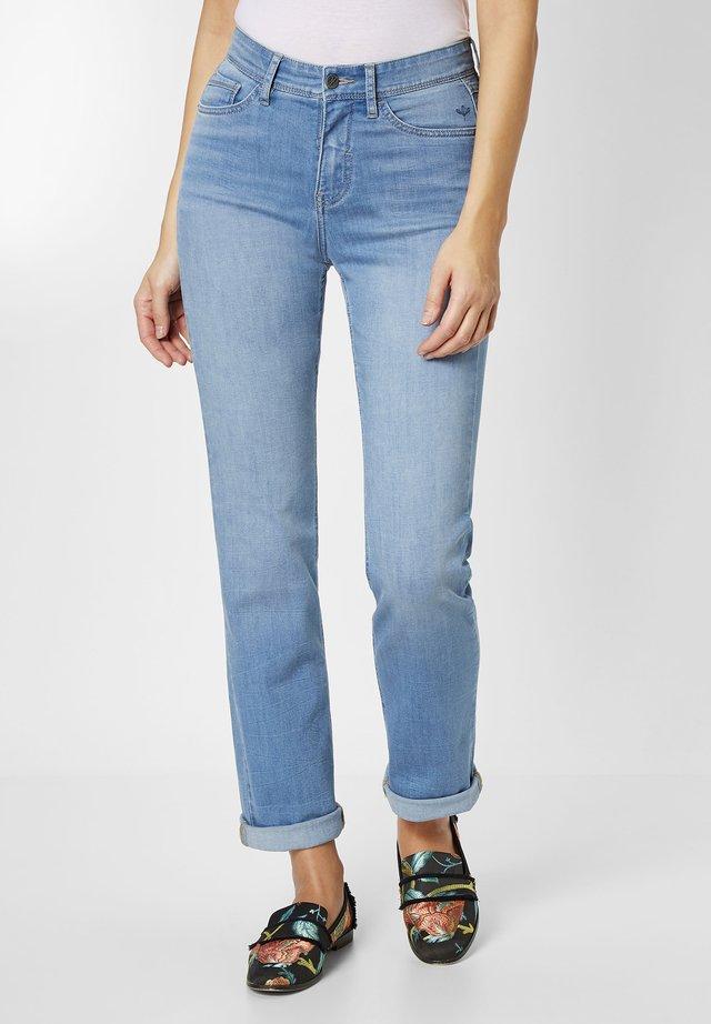 Straight leg jeans - bleached blue