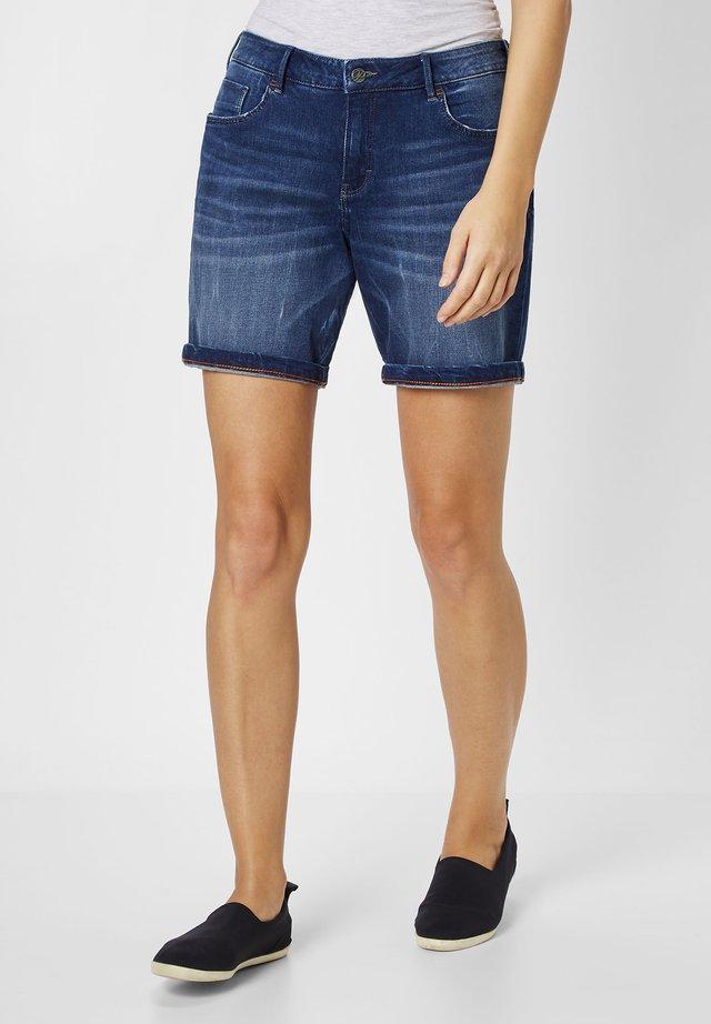 SASCHA  - Denim shorts - dark blue stone