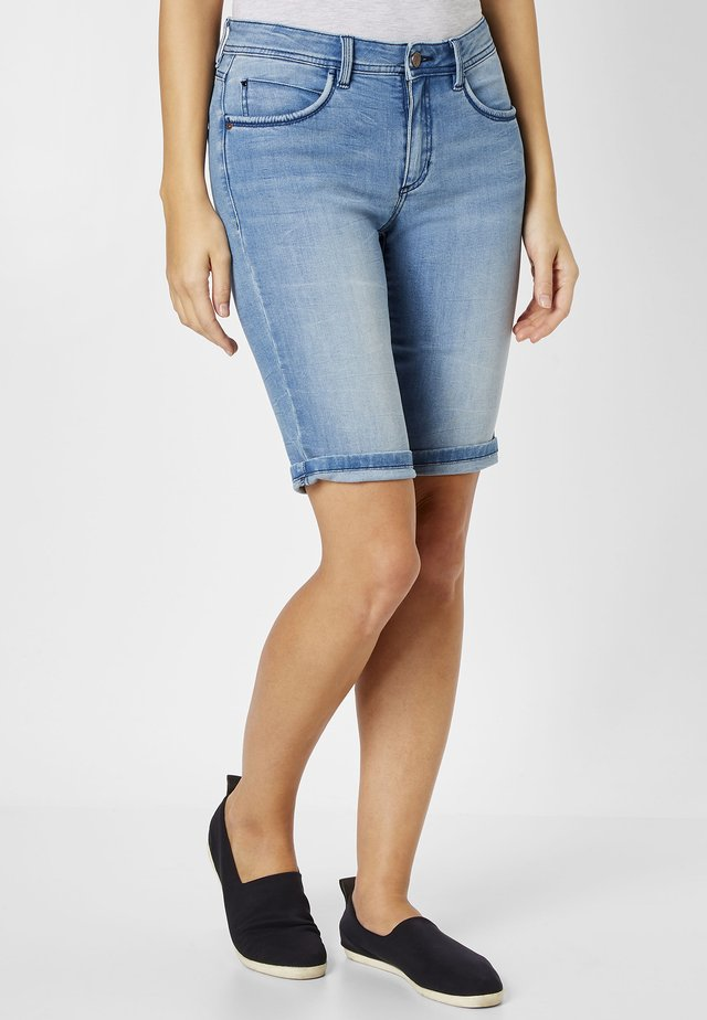 LUCI - Denim shorts - light blue stone washed