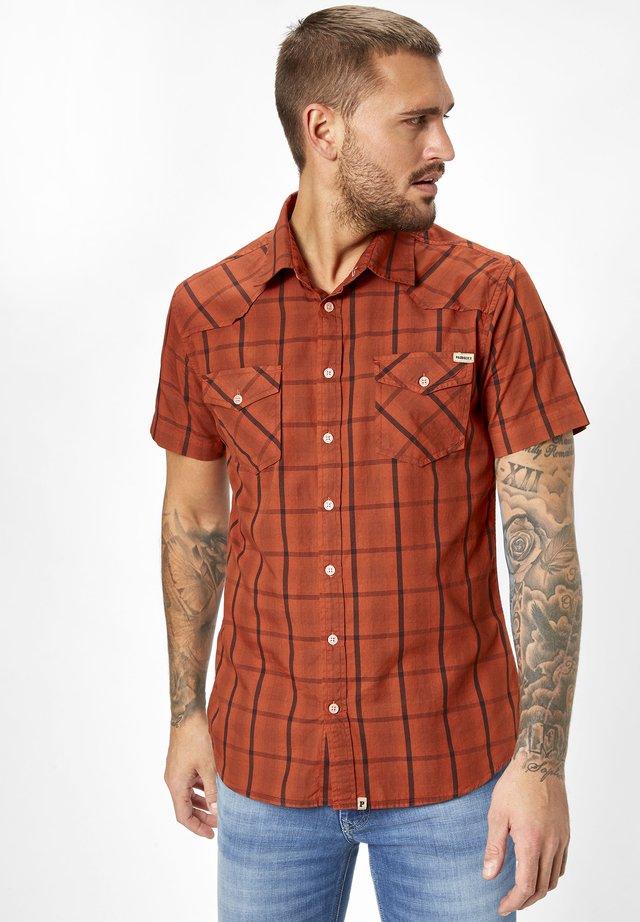 Shirt - cinnamon