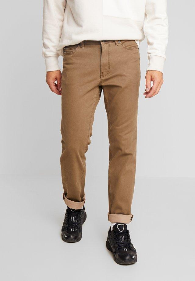 RANGER POCKET - Spodnie materiałowe - beige