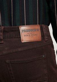 Paddock's - RANGER POCKET - Trousers - dark red - 4